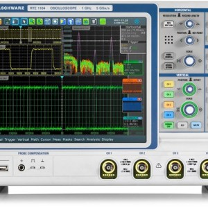 Osciloscopio Digital 2GHZ R&S RTE1204