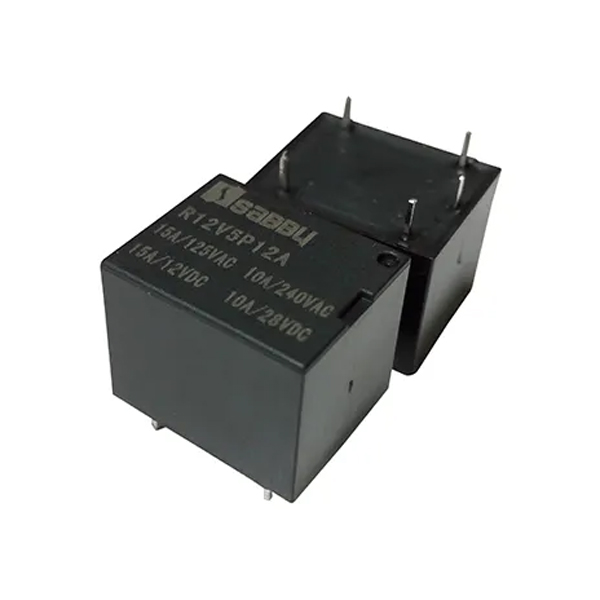 Relé Electromecánico 12Vdc/12A 5 Pines JQC-3F(T73)