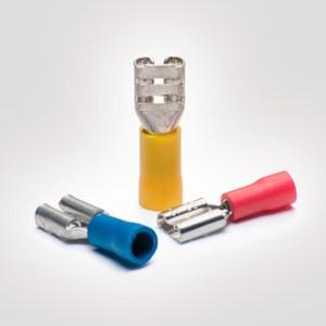 Terminal eléctrico de cobre estañado y PVC : HFST01563