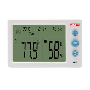 Medidor de humedad y temperatura A13T