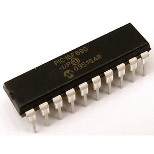 Microcontrolador PIC16F690 Encapsulado DIP
