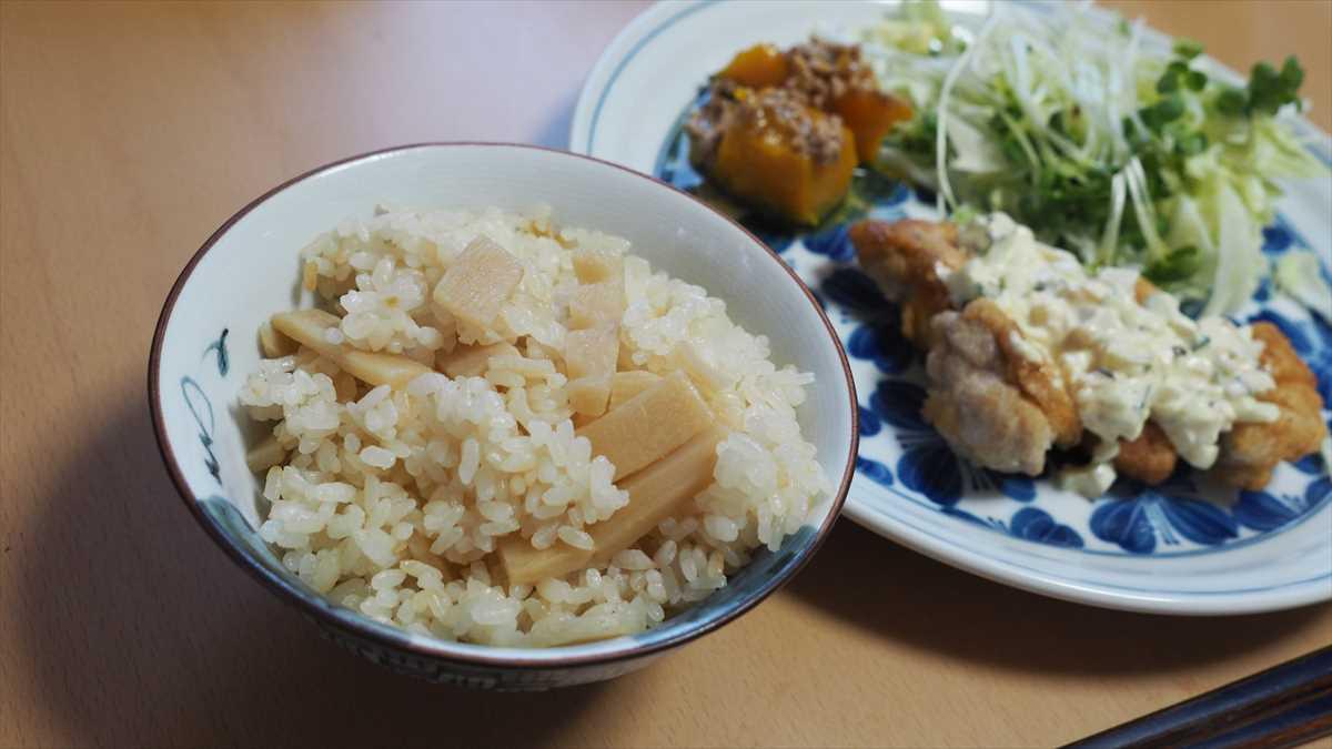 徳島県阿南市新野町 北村食品 たけのこ釜飯