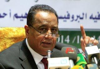 ابراهيم غندور وزير الخارجية السوداني