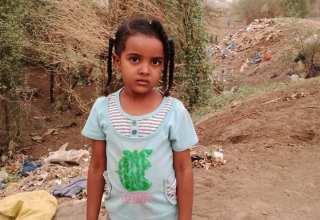 الطفلة سعاد عبدالاله الفاضلابي - صاحبة فيديو بالغت بوليغ