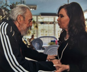 Fidel Castro Cristina Kirchner