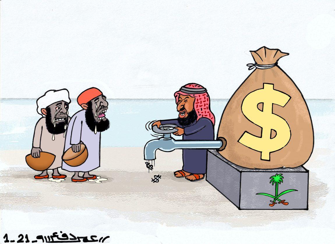 أنصار السنة والسلطات السعودية ... كرتون عمر دفع الله
