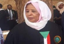 """Photo of رئيسة القضاء السوداني توضح ملابسات تأخير تنفيذ إعدام قتلة المعلم """"أحمد الخير"""""""