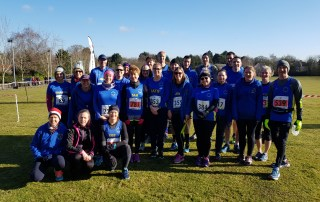 Sudbury Joggers at Tarpley 2018