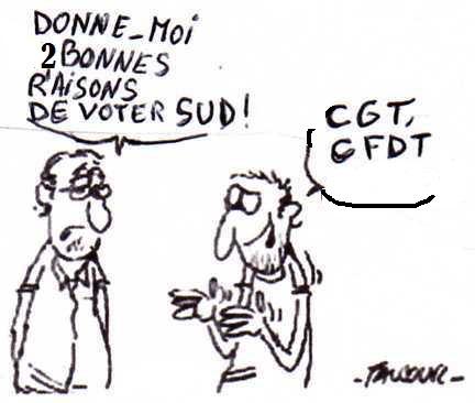CGT et CFDT Saint-Herblain