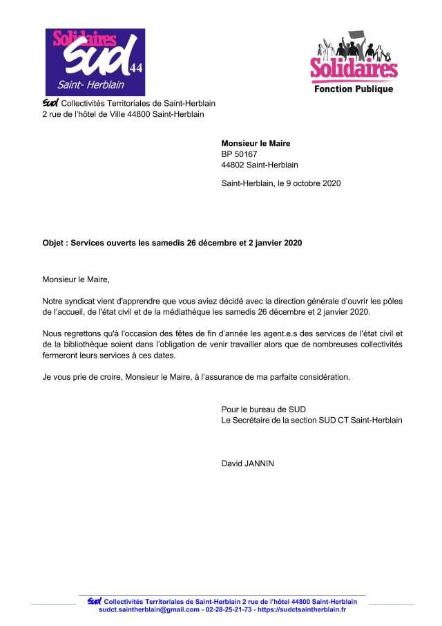 Etat  Civil Saint-Herblain