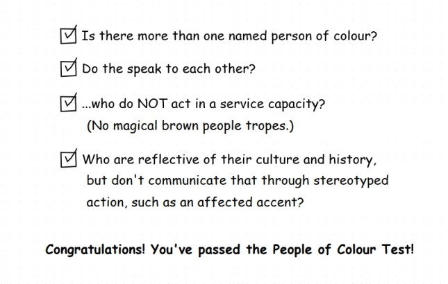 People of Colour Test 2 check boxes