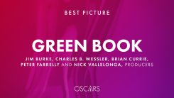 social media card from the Academy announcing Green Book as the winner of the Best Picture award