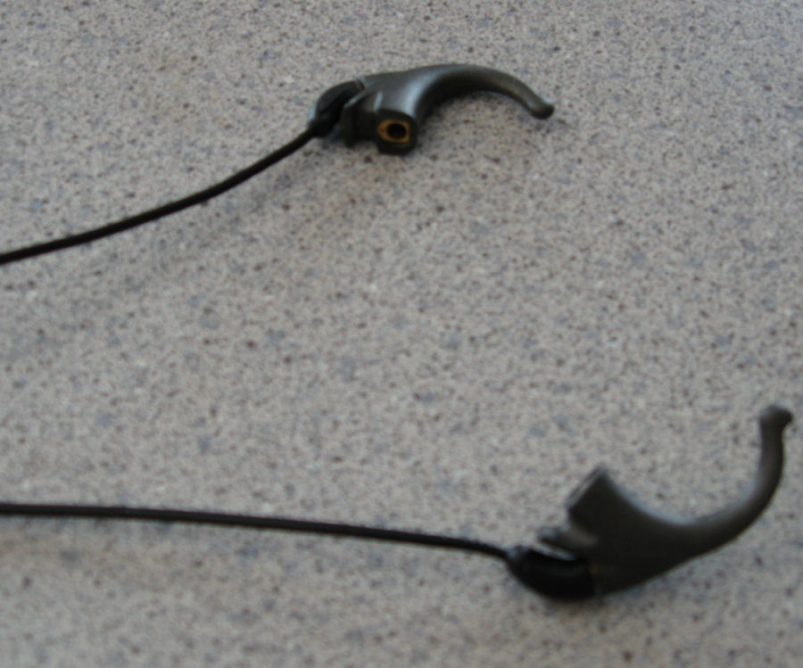 The small earhook that each Direct Connect cable ends with