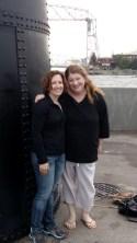 Tina and I at lighthouse