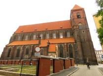 Kościół św. Mikołaja od północy