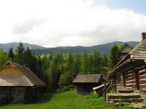 Mini-skansen w Markowej