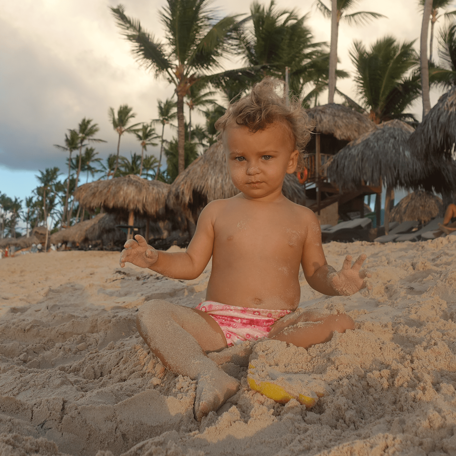 Anastasia Louise Sudentas visits Punta Cana for the first time