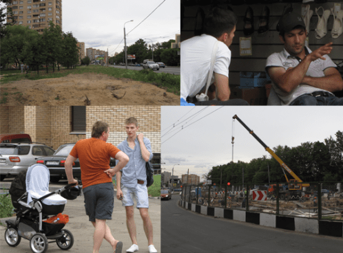 Workshop conducted interviews with local residents of a city district