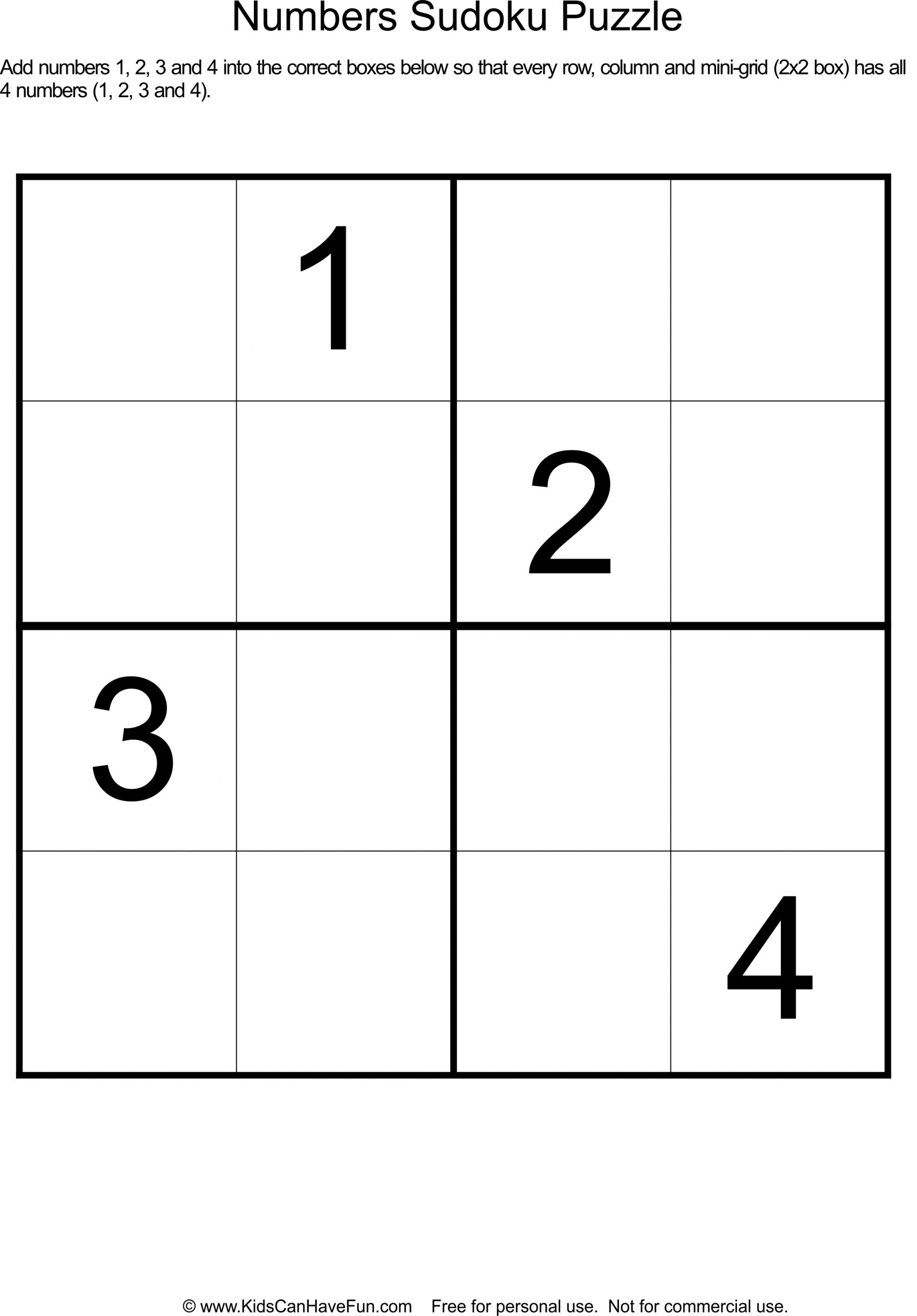 Vector Sudoku With Answer 171 Puzzle Game With Numbers