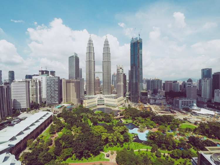 Kuala Lumpur city view , Malaysia