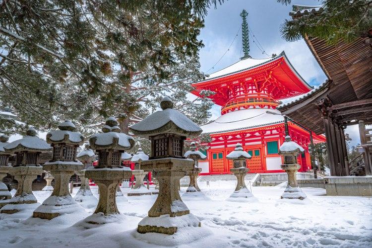 Konpon Daito Pagoda