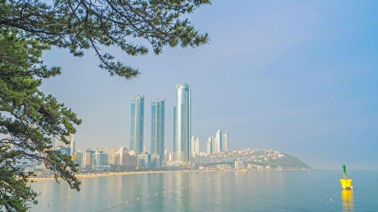 Haeundae beach, 중동 부산광역시