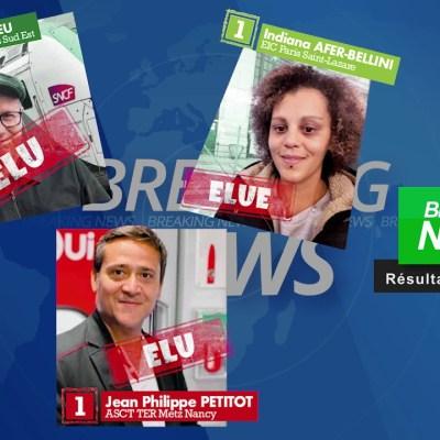 Élections au CA de la SA SNCF: Mission accomplie!