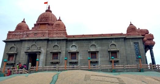 Mandapam at Vivekananda rock