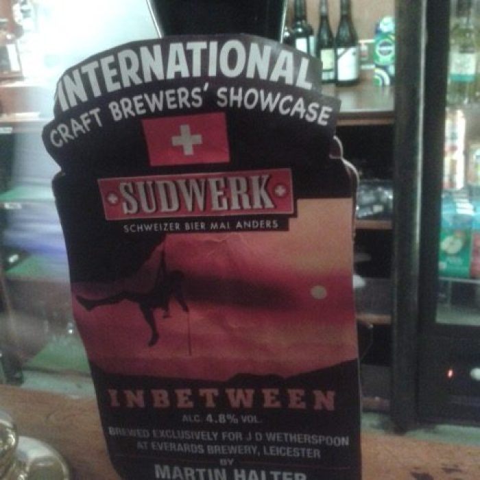 Sudwerk 'Inbetween' (BrownAle) in Bristol, GB