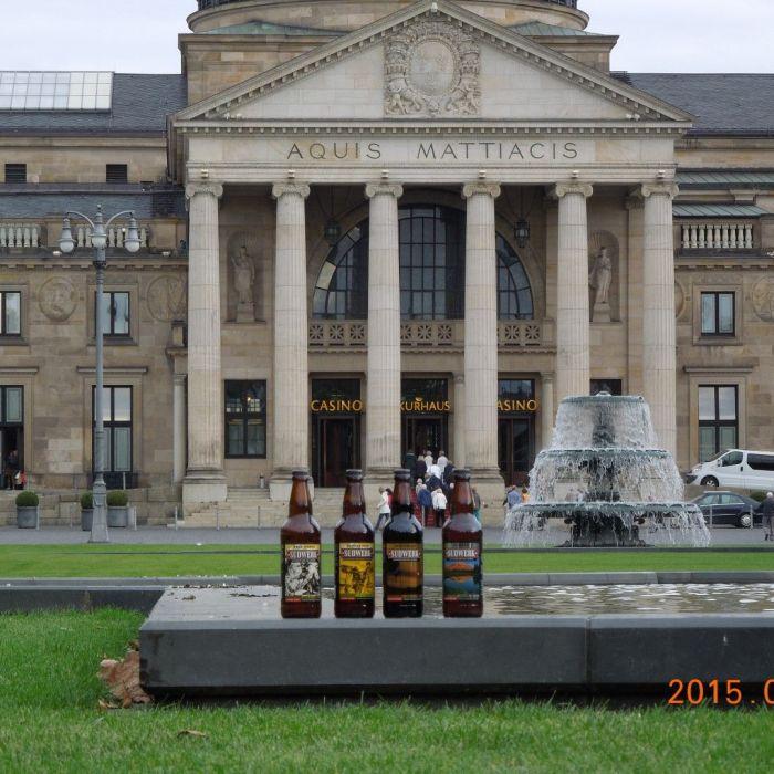 Sudwerk Biere auf Reise