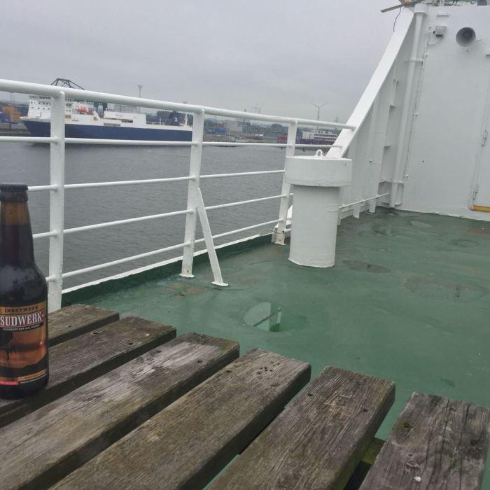 Sudwerk 'Inbetween' (BrownAle) Fähre Zeebrugge
