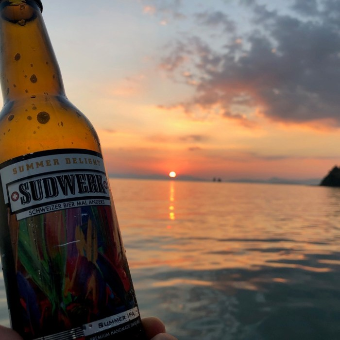 Sudwerk 'SummerDelight' (SummerIPA) in Thailand