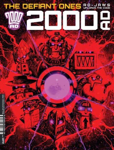 Обложка журнала 2000 ad #1972