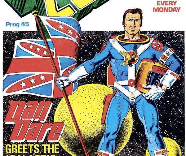 Обложка журнала 2000 ad #0045