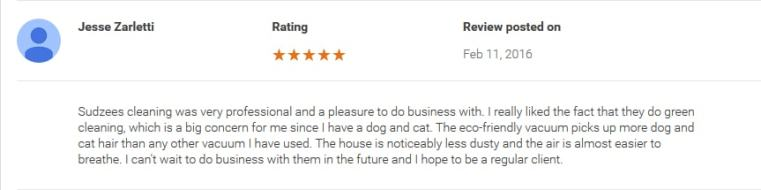 Review for Cleaning Company