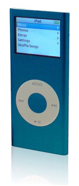Deuxième génération iPod nano