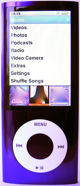 Cinquième génération iPod nano