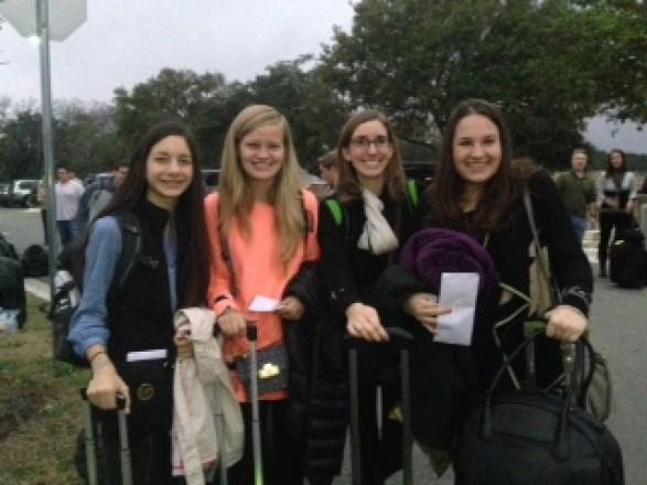 Natali, Avery, Anna Claire & Emma