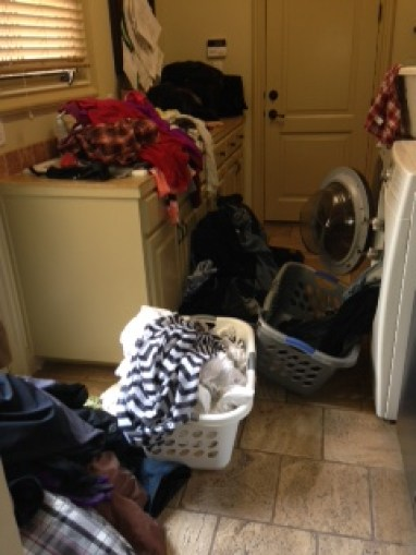 Urgh! Laundry!