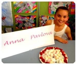 Lily as Anna Pavlova