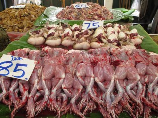 Frogs for sale, Bangkok