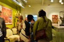 Blurry, but reflective of the vibe!