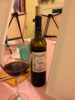 My wine is poured!
