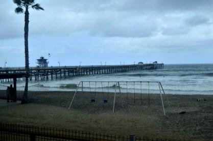 Pier at San Clemente.