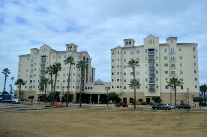 Grand hotel at Oceanside