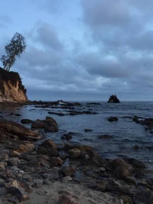 Down the coast