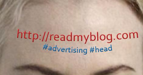 website header head with brand