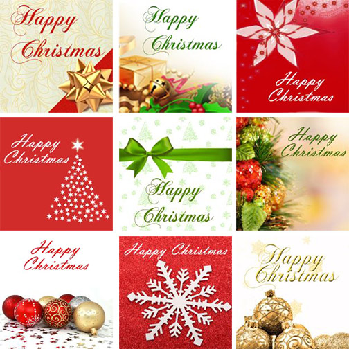 Free Christmas Facebook Images - by Sue Bride