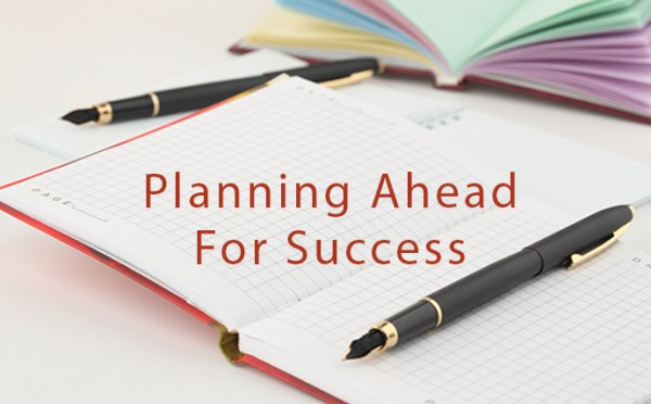 Planning Ahead for Success text and notebooks