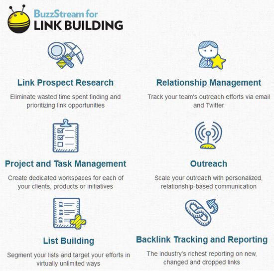 Buzz Stream for Link Building